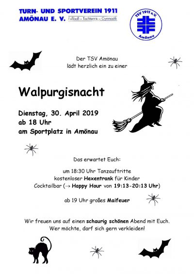 Maifeuer-Walpurgiesnacht 2019